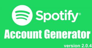 free spotify premium accounts generator