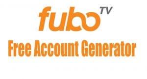 fubotv free account generator