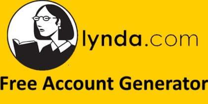 Free Lynda Account Generator
