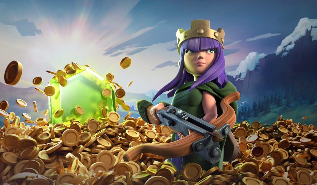 clash of clans gold tactic